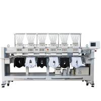 12 15 Needles 6 Head Embroidery Machine High Speed T Shirt Hat Embroidery Machine Manufactures