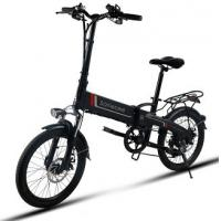 "Buy cheap WWW.YOLCART.COM Samebike JG7186 20"" Aluminum Frame 250W Foldable E-bicycle from wholesalers"