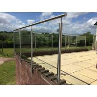 Stainless Steel Post for Glass Railing/ Glass Balustrade for Exterior Using Manufactures
