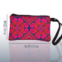 Quality cross stitch fabric embroidery handbag purse ethnic borse hmong bags for sale