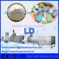 China Automatic Stainless steel Modified Pregelatized Starch processing Machinery 380v/50Hz on sale
