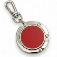 Contractible Handbag Hanger with Embedded Magnet and Keychain Manufactures