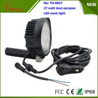 Portable and off road 27W LED Work Light Lamp for 4X4 vehicles and LED emergency lighting Manufactures