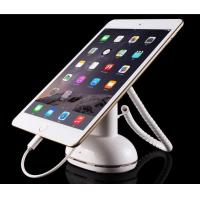 Anti-theft tablet pc stand with charger ABS adjustable clamp lock and alarm security Manufactures