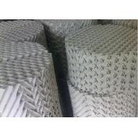 China Customzied Ceramic Structured Packings , High Capacity Distillation Column Internals on sale
