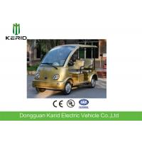 FRP Body Curtis Controller Electric Sightseeing Car 48V AC Motor Zero Pollution Manufactures