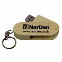 16MB-64GB Wooden USB Flash Drive With Customized Logo Printing
