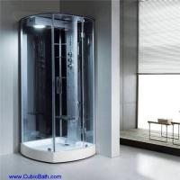 Big opened shower stall in corner-FT-112 Manufactures