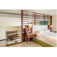 Hotel style apartment interior furniture made by Laminate board for Wardrobe with minibar cabinets Manufactures