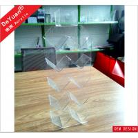 Rectangle Acrylic Holder Stand Light Weight 50*20*10cm RHOS Manufactures