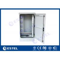 Outdoor Optical Cable Cross Connection Cabinet Cold Rolled Steel Wall / Floor Mounted Manufactures