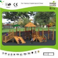 Buy cheap Park Wooden Playground (KQ10155A) from wholesalers