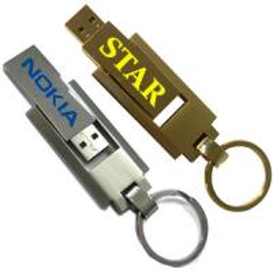 China Metal Swivel Promotional Customized Usb Flash Drives 1gb-512GB on sale
