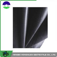 China 460G Black Geotextile Filter Fabric Convenient / Woven Geotextiles on sale