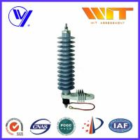 Single Phase Silicon Rubber Lightning and Power Surge Arrester for Electrical Equipment Manufactures