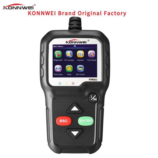 Quality Multi Languages Handheld Car Diagnostic Scanner Laptop Snap On Kw680 For 12V Vehicles for sale