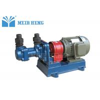 Small Screw Oil Transfer Pump / Rotary Positive Displacement Pumps For Lubrication Oil Manufactures