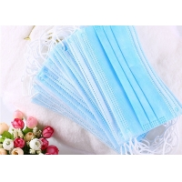 Disposable Filter 3 Ply Lightweight Anti Pollution Earloop Face Mask Manufactures