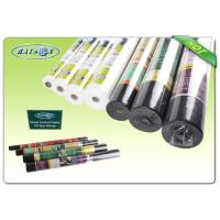Small Roll Light Weight Garden Weed Control Fabric / Non Woven Mulch For Covering Crops Manufactures