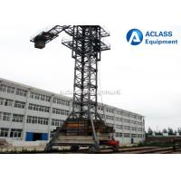 Hydraulic Self - Climbing 60m Jib Mobile Tower Crane , Topkit Tower Crane Manufactures