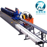 80m/min C U Stud And Track Roll Forming Machine With Servo Motor Cutting Control Manufactures