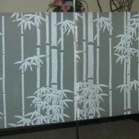 Decorative Self Adhesive Window Film with Bamboo Patterns, Customized Patterns are Welcome Manufactures