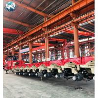 China 8 lines 16 axles 12 line 24 axle hydraulic steering modular lowbed semi truck trailer on sale