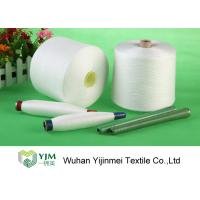 42s/2 100% Polyester Core Spun Yarn On Plastic Tube , 42/2 Polyester Sewing Yarn Manufactures