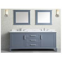 Prima Customized MDF Vanity With Quartz Stone Countertop / Basin and Faucet Manufactures