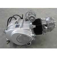 Siver Color Motorcycle Engine Assembly , 50CC Motorcycle Engine Manual Clutch Manufactures