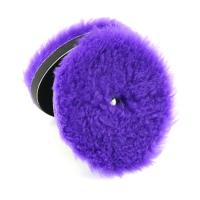 "North Wolf Car Detailing DA Wool Buffing Pads for Car Polishing Purple Color 6"" Manufactures"