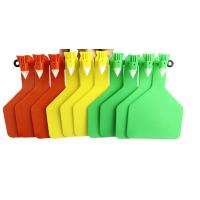 One Side Yellow Colour Visual Sheep Tags For Cattle Manufactures