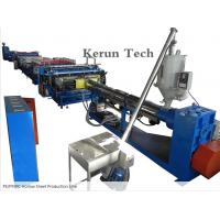 PVC Sheet Extrusion Line / PE/PP/PC Hollow Sheet Production Line Manufactures