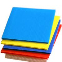Excellent Quality PP Plastic Hollow Sheet For Floor Protection Manufactures