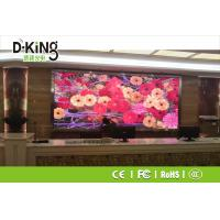 High Contrast 16bit P4 SMD Indoor Advertising Led Display Board Manufactures