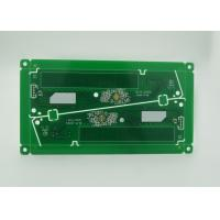 Lead Free Double Sided PCB RoHS Green Solder Mask White Print Manufactures