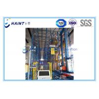 Heavy Duty Automatic Storage Retrieval System With Stacker Crane High Automation Manufactures