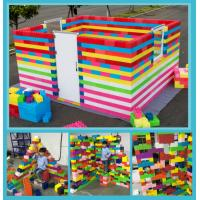 2018 New design plastic building bricks toys for preschool big play blocks building toys lego toy block Manufactures