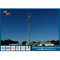 Powder Coated Galvanized 3G Telecommunication Towers For Cell Phone Signal Manufactures