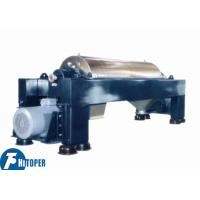 Chemical Wastewater Treatment Industrial Decanter Centrifuge Continuous Operation Manufactures