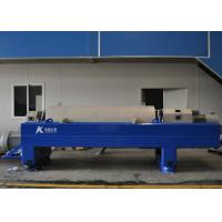 Oilfield Refinery Continuous Horizontal Centrifuge With PLC Touch Display Screen Manufactures