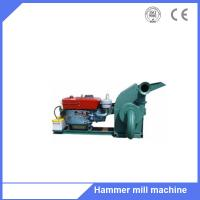 New tree branch biomass fuel plant use hammer grinder machine with 15hp diesel motor Manufactures