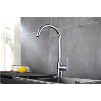 Single Handle Black Basic Kitchen Faucet Sink Taps Chrome Finishing Deck Mounted Manufactures
