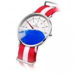 6mm Ultrathin Quartz Stainless Steel Watch , Single Needle Classic Digital Scale