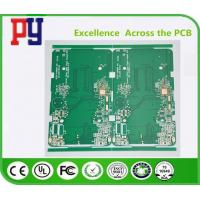 Green Solder Mask Prototype Printed Circuit Board , Pcb Circuit Board Multilayer Manufactures