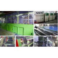 Quality Knitting Non - Woven Electrostatic Flocking Equipment Available Working Width for sale