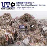 China two engines shredder/ plastic shredder/ ragger wire recycling equiments / pulp paper factory / waste plastic scrap crush on sale