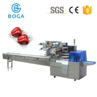 Reciprocating Flow Packing Machine with tray holder packing Gusset outlook bread packaging 600W Manufactures