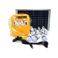 Clean Energy Solar Powered Lights High Power 10W 18V Polycrystalline Yellow Color Manufactures