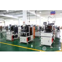 Automatic Single Phase Motor Stator Lacing Machine CNC Controller White Color Manufactures
